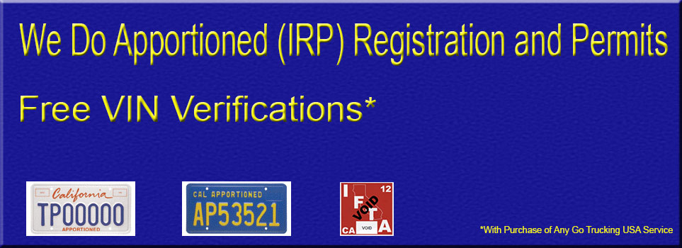 Truck Registration and Permit Services