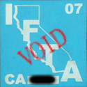 CA IFTA Decal